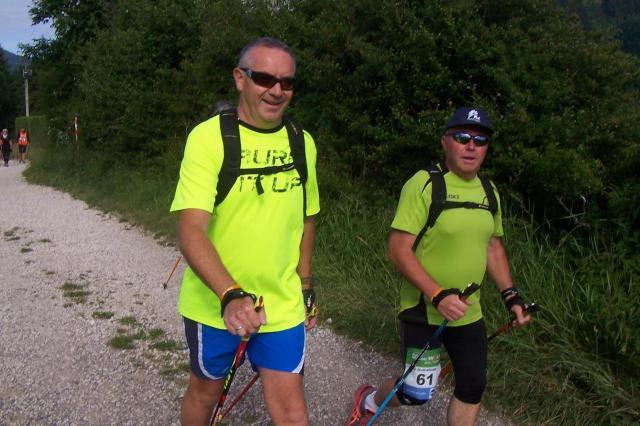 Gilles et Didier avant la côte