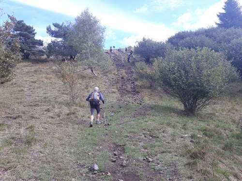Randonnée dans le Puy de Dôme