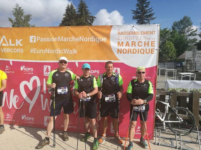 EURO NORDIC WaLK VERCORS  Samedi 09 Juin 2018