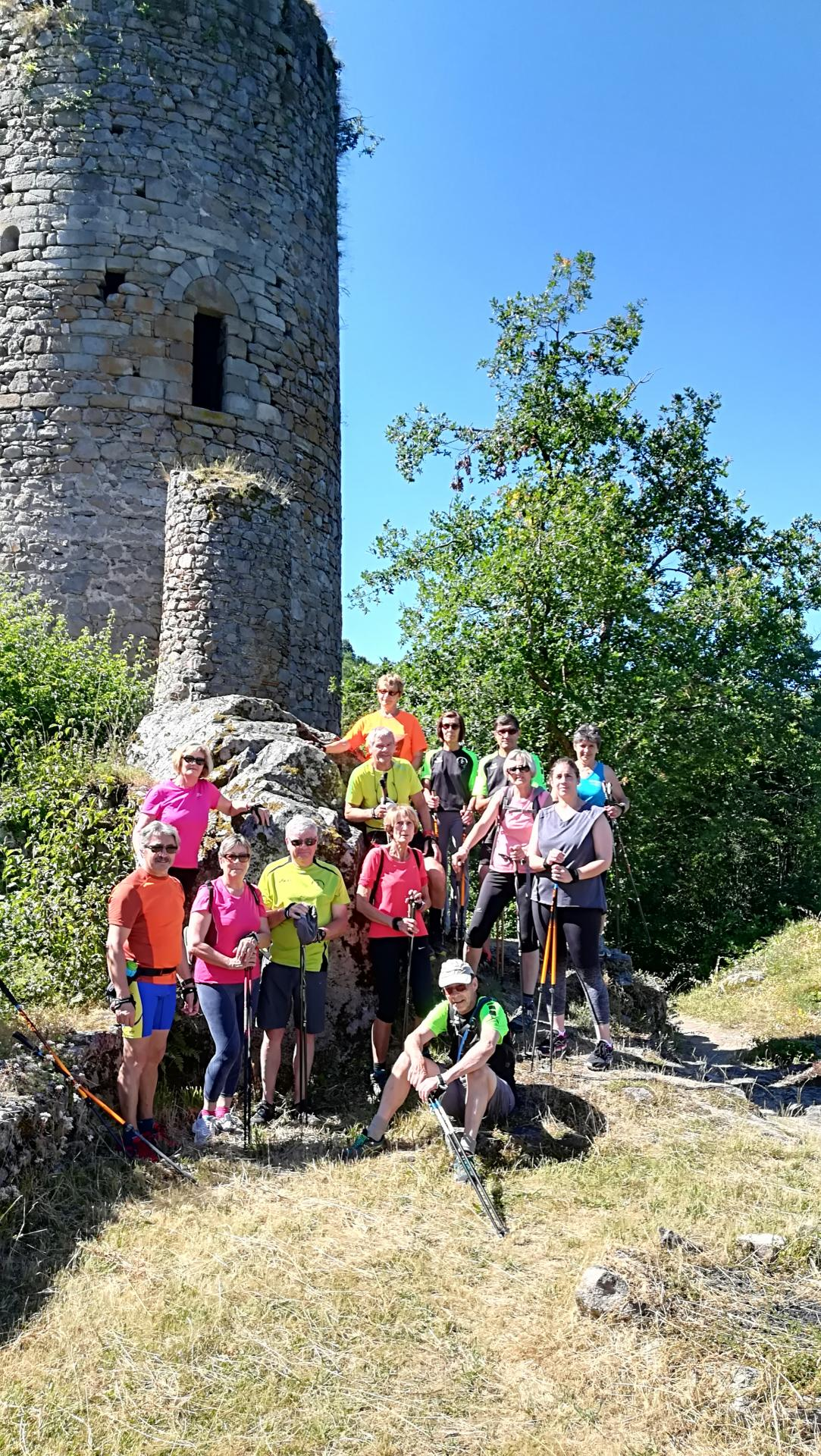 Pause photos au Chateau de l'Ours