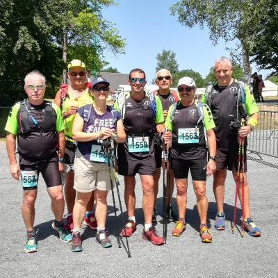 23ème édition de la Marche Nordique de 26km autour du Lac de Vassivière