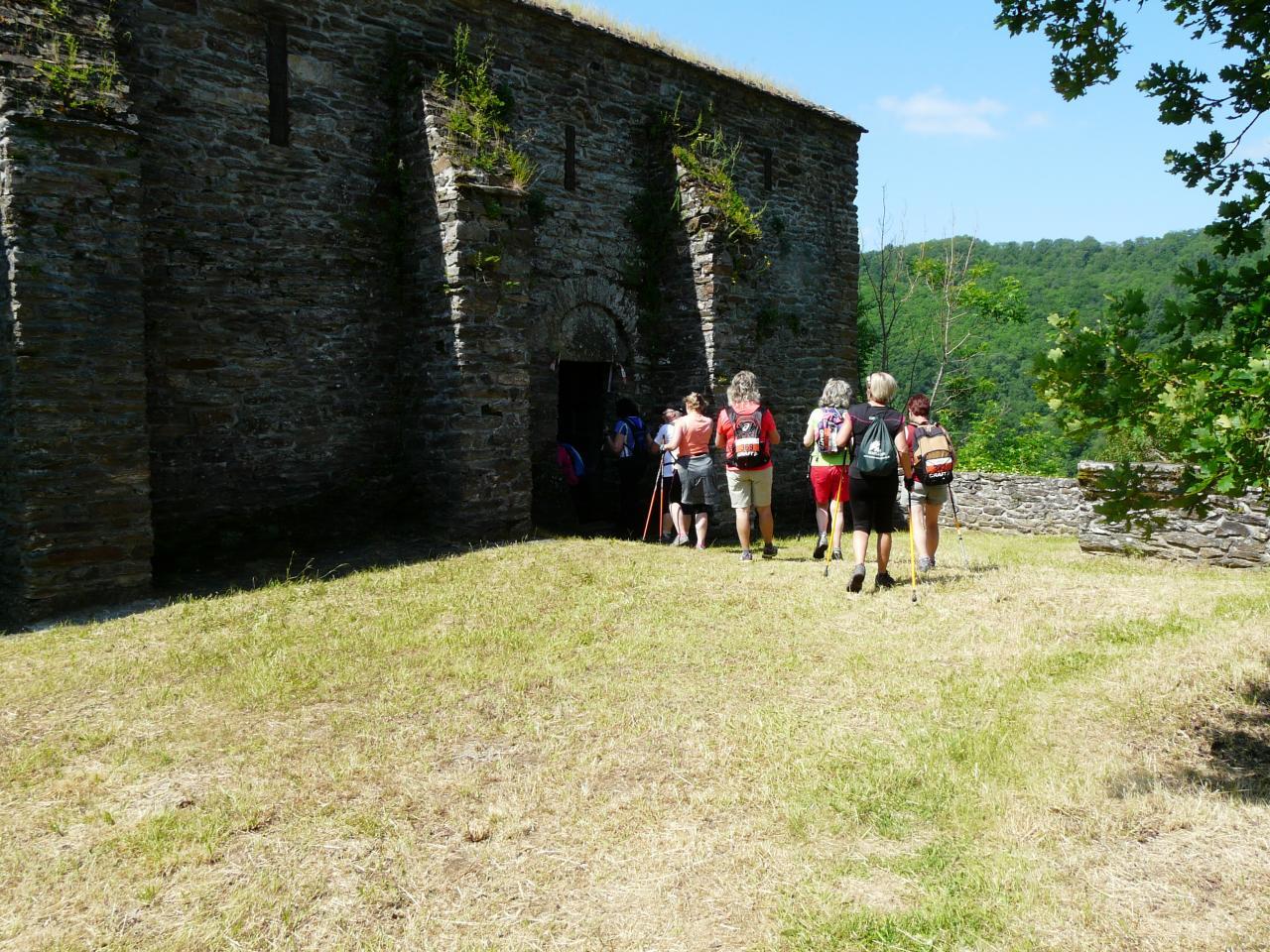 passage dans la chapelle