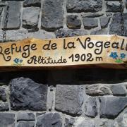 arrivée au refuge de VOGEALLE