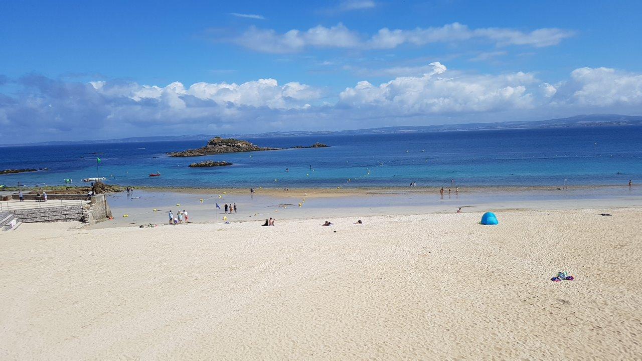 la plage pour se baigner