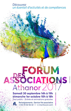 Forum des associations samedi 30 septembre dimanche 1 octobre 2017 centre athanor montlucon