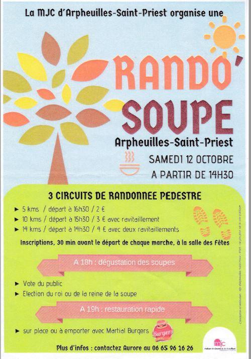 Rando soupe 2019